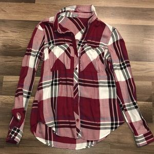 Red, Black and White Flannel